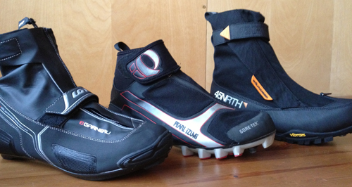 New for 2011 is the Gaerne G.Akira (road) and G.Artix (mountain) winter cycling shoes for riding in extreme cold and wet conditions