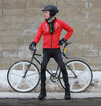 Winter Bicycle Clothes 4k Wallpapers