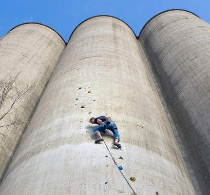 Industrial Wasteland Transformed Into Climbing Paradise