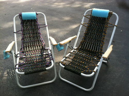 climbing rope lawn chairs