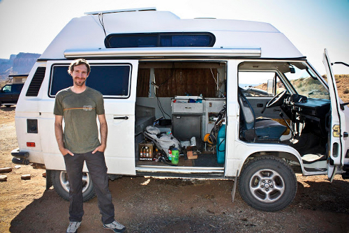 10 dirtbag climbers convert vans into mobile homes gearjunkie. Black Bedroom Furniture Sets. Home Design Ideas