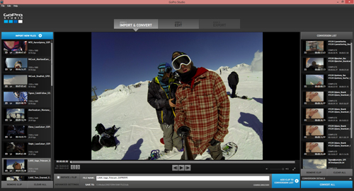 Pro-Level\' Videos Made in Minutes (goal of GoPro Studio 2.0 software)