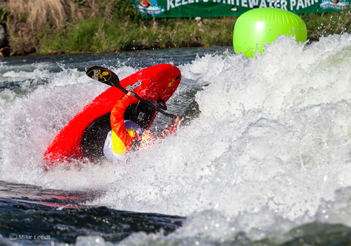 whitewater kayak competition