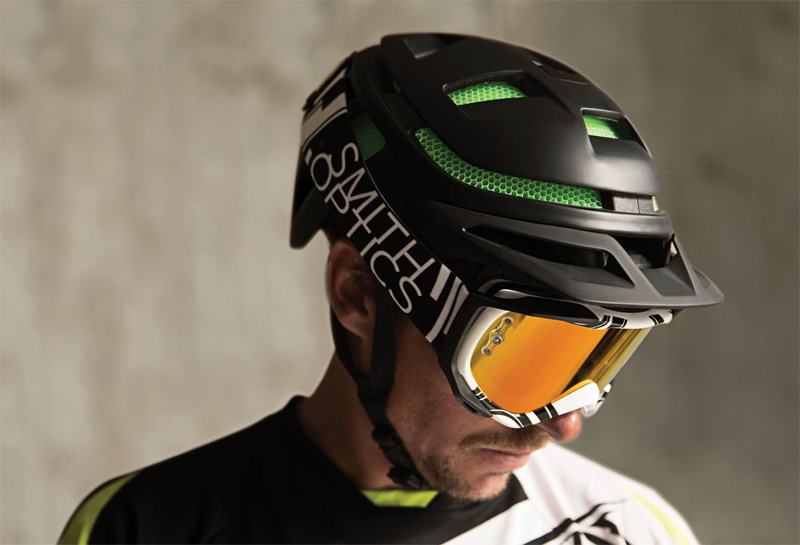 First Look Smith Mtb Helmet Has New Type Of Protective Foam