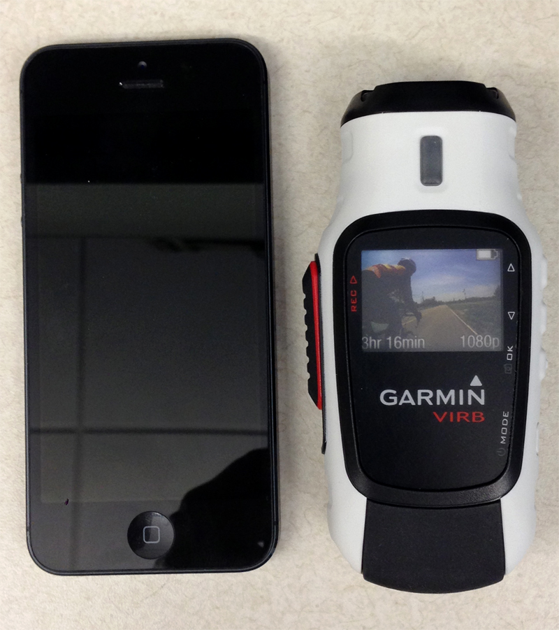Garmin Camera has HD Recording, GPS, Altimeter, Heart-Rate