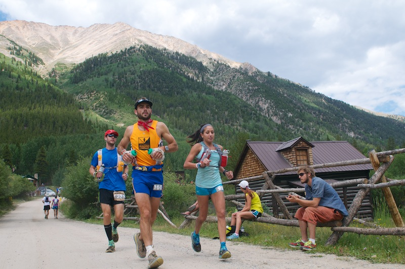 leadville trail 100  pain  exhaustion  elation on ultra