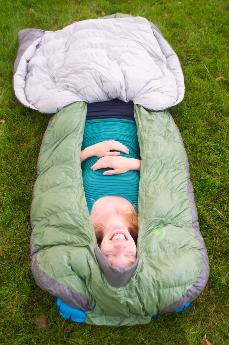 The Sierra Designs Backcountry Bed Has No Zippers And Allows For Easy Ventilation