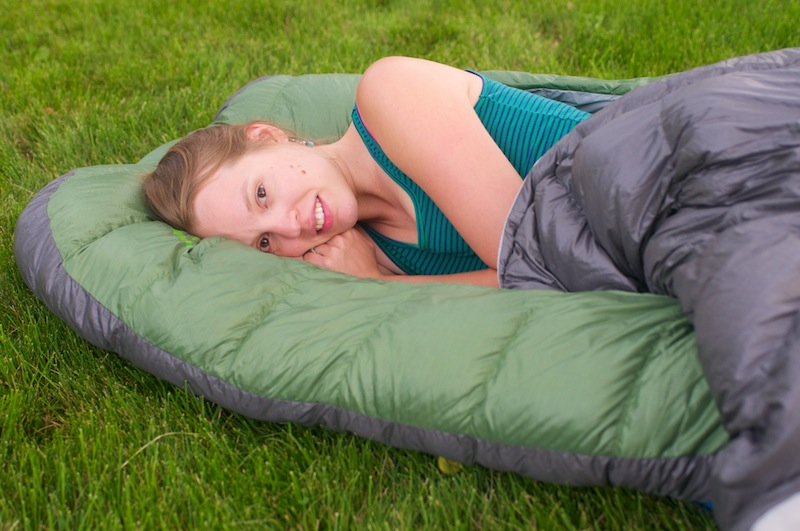 Not A Mummy Zipper Less Design Offers New Sleeping Bag