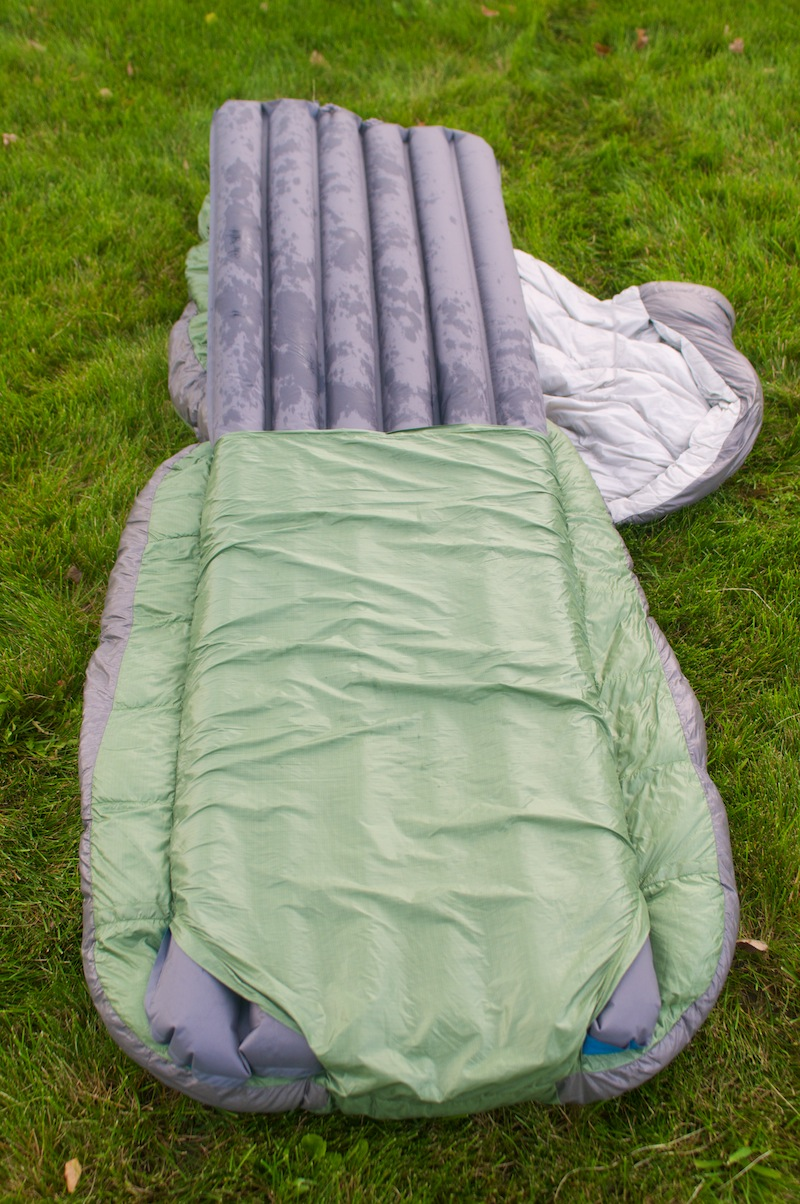Not A Mummy Zipper Less Design Offers New Sleeping Bag Experience
