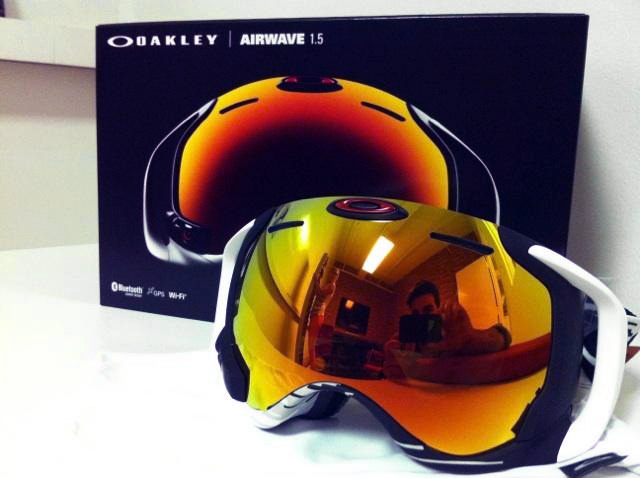 oakley airwave goggles  $650 Oakley Goggles Have GPS, Integrated Display