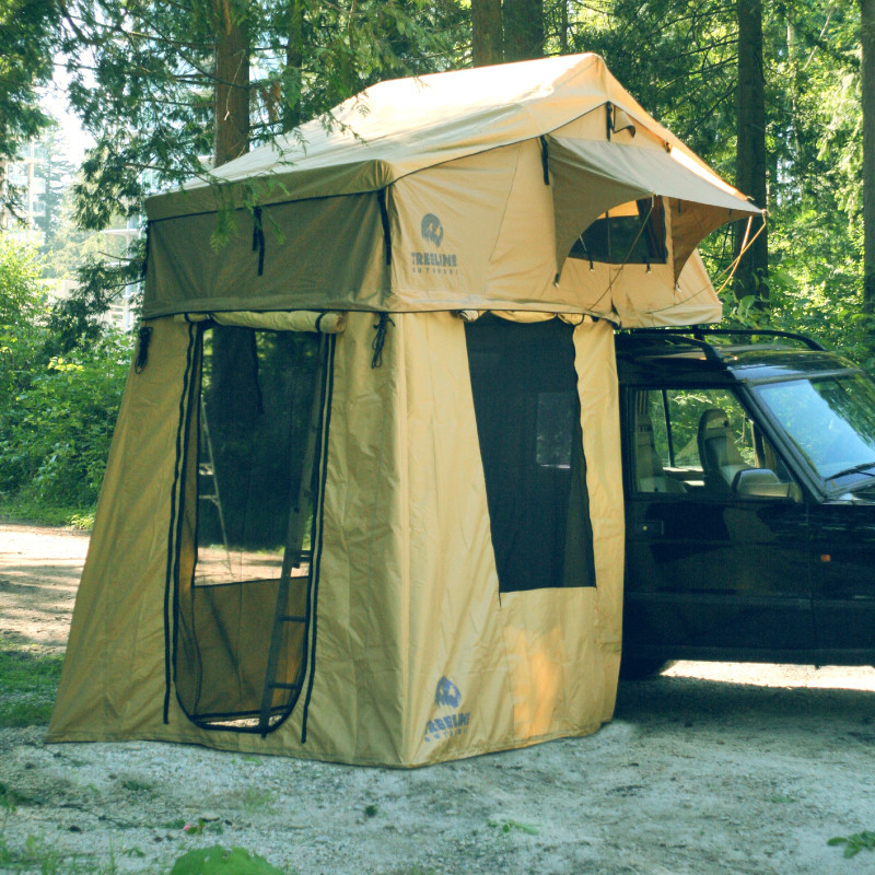 Rooftop Tent Turns Car Into Ultimate Adventure Mobile