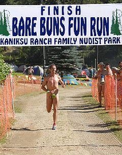 Are certainly nudist 5k run races