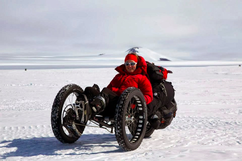 Fat Bike Trike Made Custom For Expedition To South Pole