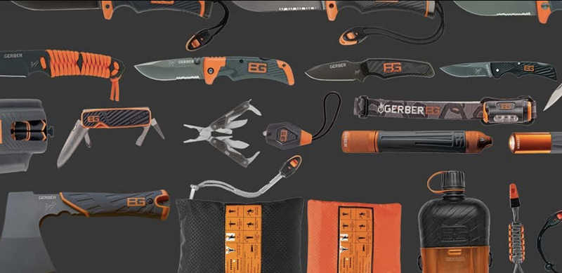 Entire Bear Grylls Product Armada From Gerber For Sale