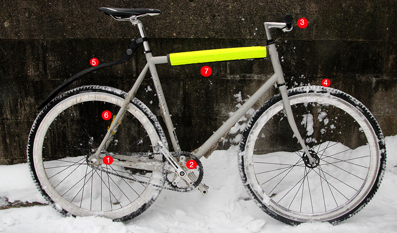 Madison Schwinn Ultimate winter bike
