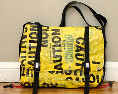 Reclaimed and Recyled Messenger Bags  4481baf270fe9