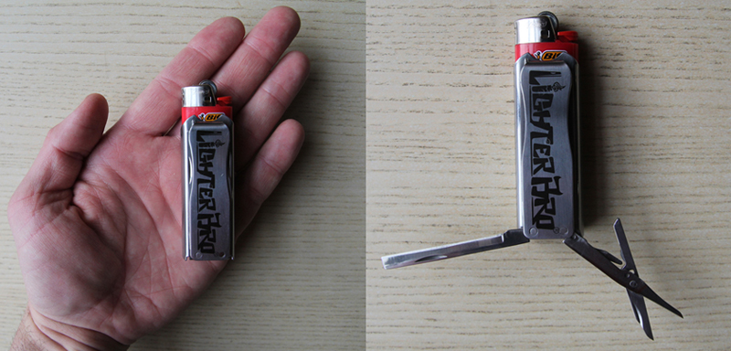 Lighterbro Turns Common Bic Into Knife Equipped Multi Tool