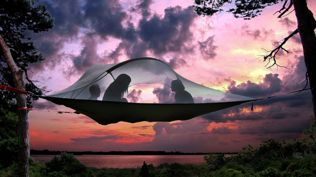 Tensile Tree Tent Stingray & Stingrayu0027 Tent Is A Portable Treehouse