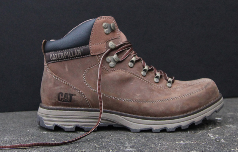 caterpillar shoes history footwear designers
