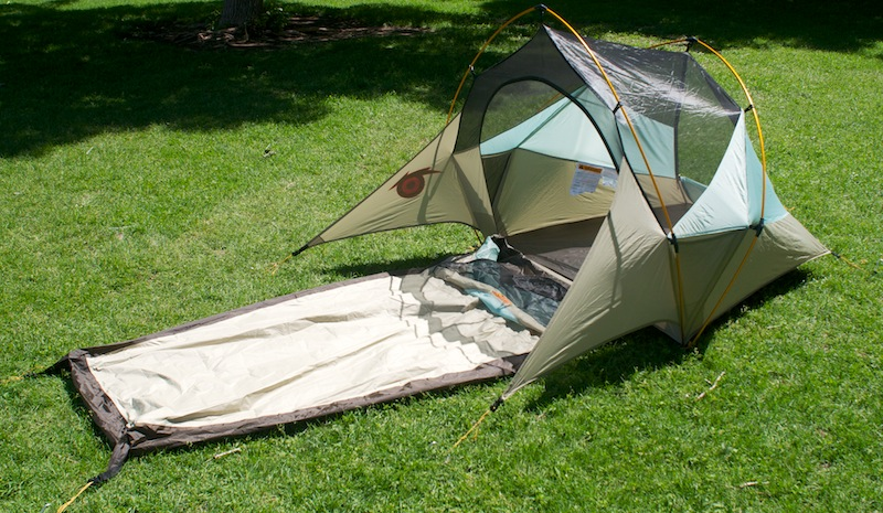 & New Shelter Combines Bivy Sack Tent