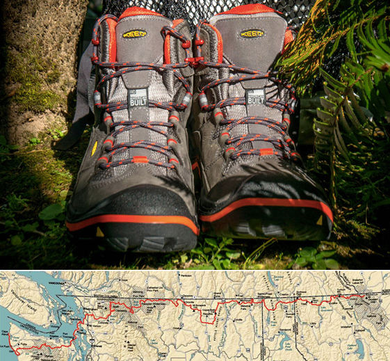 '1 Million Steps' In KEEN Durand Boots