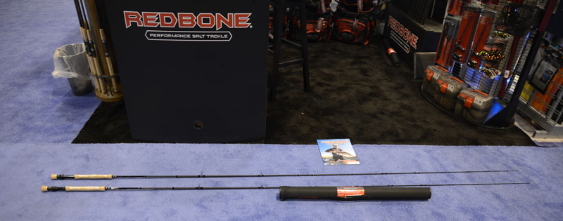 Top fishing gear from icast iftd for Redbone fishing rods