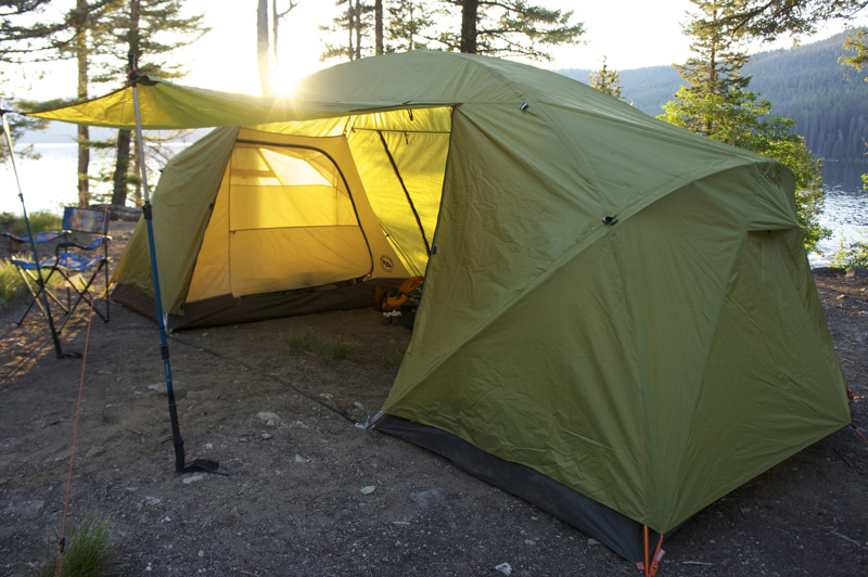 First Look Big Agnes Two Room Family Tent