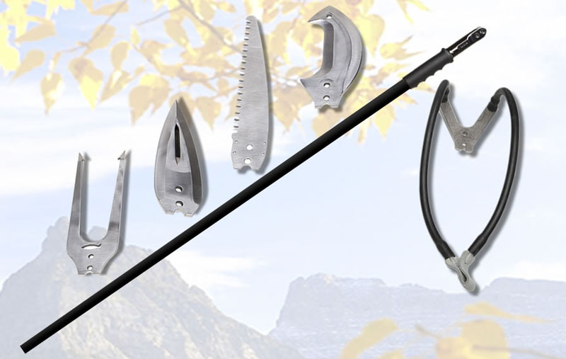 Multi-Tool On A Stick: Crazy 'Survival Staff' Has Interchangeable