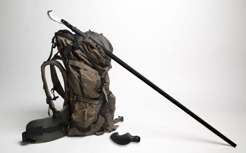 Multi-Tool On A Stick: Crazy 'Survival Staff' Has
