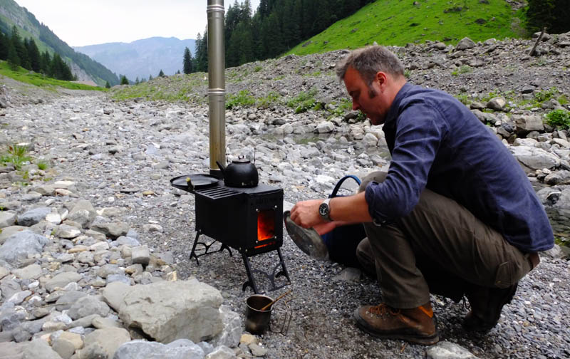 - Portable Stove: If Campfire Just Isn't Enough