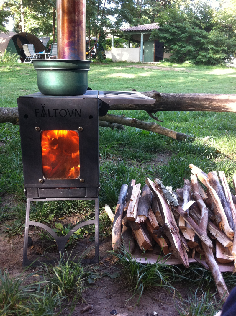 Portable Stove: If Campfire Just Isn't Enough