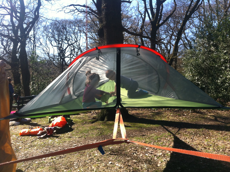 Portable Treehouse New Suspended Tentsile