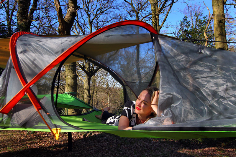 Portable Treehouse New Suspended Tentsile Gearjunkie
