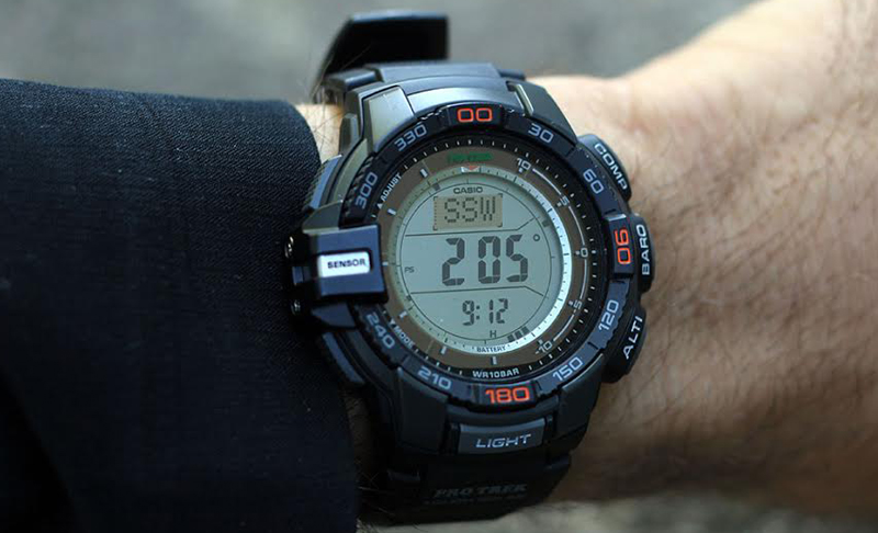 Casio Outdoors 'ABC' Watch Storm Tested | GearJunkie