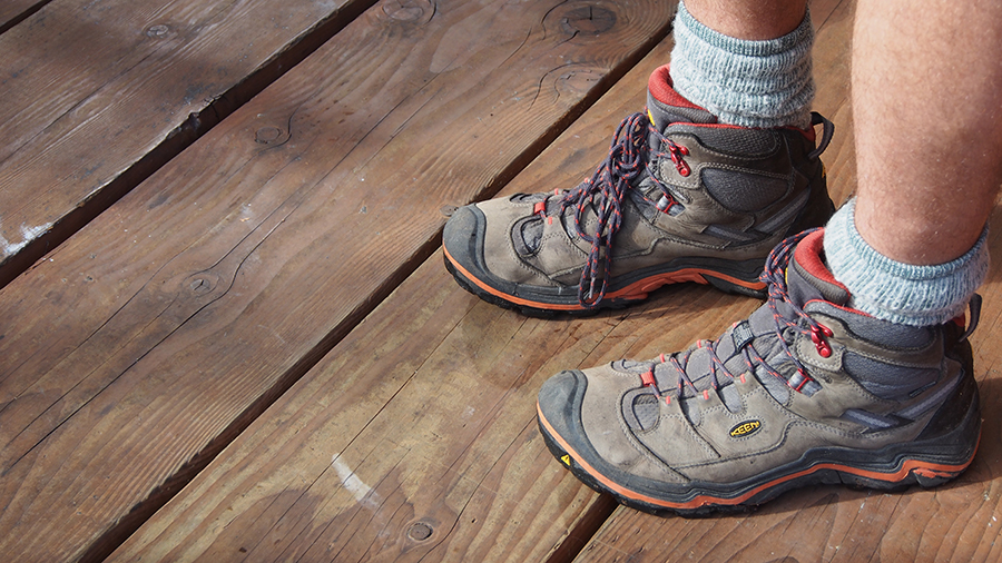 45a84fd87d9c Durand boots after 1 million steps (photo taken today at KEEN hq)