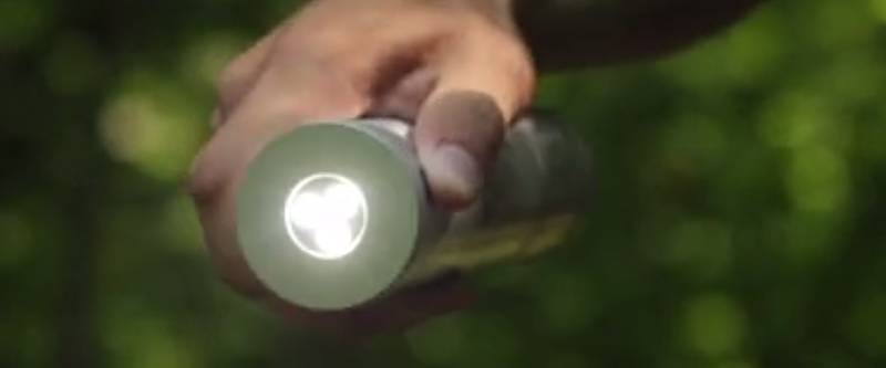 Flashlight Stocked With Survival Gear