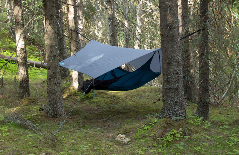Flat Camping Hammock Converts To Chair