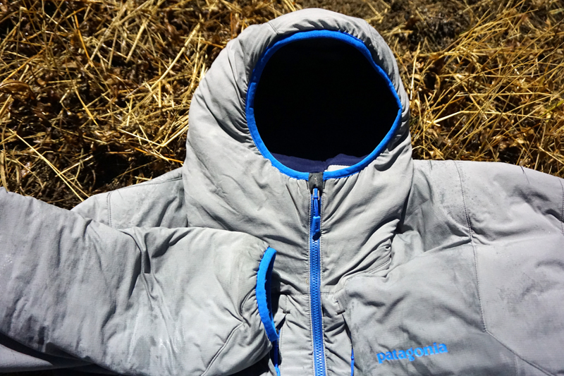 Patagonia Nano-Air Jacket hood close up
