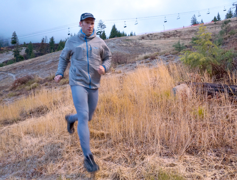 Warm Patagonia Nano-Air Jacket for running