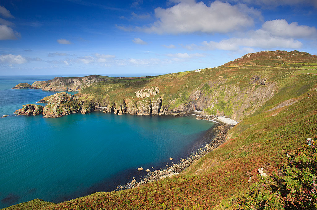 Wales coast path hike