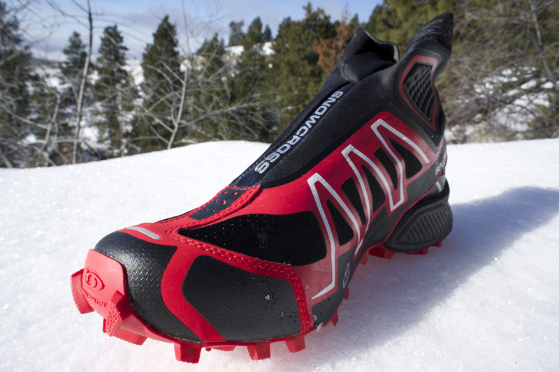 First Look: Salomon Shoes For Winter Running