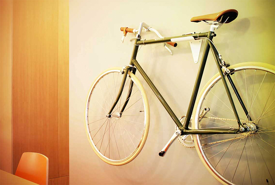 Hang Your Bike On The Wall As Art. Thatu0027s A Premise Of The SlimBike, A  Concept Bicycle In Funding Now That Converts From A Retro Ride To A Mounted  Wall ...