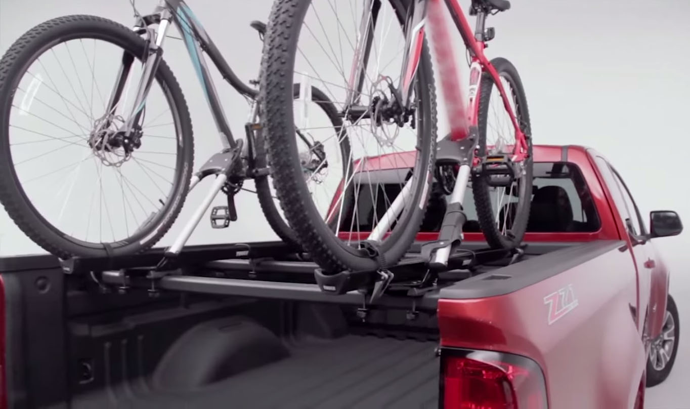2015 Chevy Colorado Tent In Bed And Gear Hauling Tricks