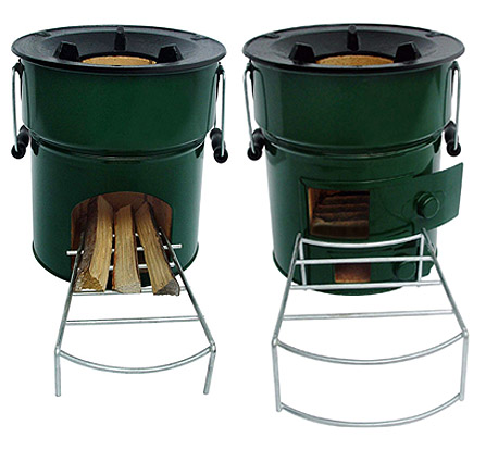- Wood-Burning Camp Stove