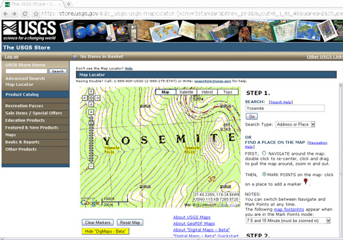 Free USGS Topo Maps - Usgs map store