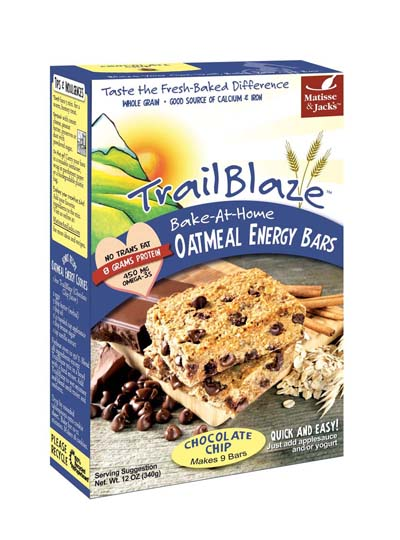 TrailBlaze Bake-at-Home Oatmeal Energy Bars.
