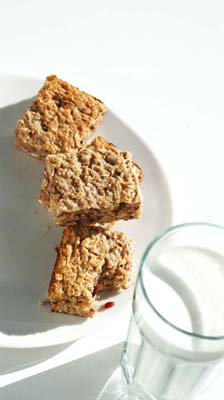 Bake-at-Home Oatmeal Energy Bars