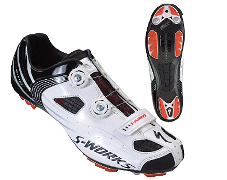 S Works Mtb Shoe In White
