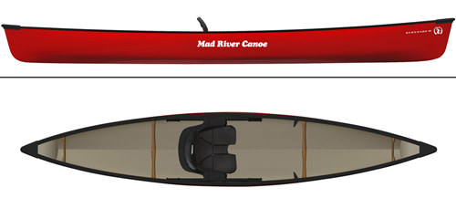 The Company Made Hybrid Design With A Single Center Seat Like Kayak But Hull And Gunwales That Mirror Recreational Canoe