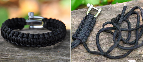 Paracord Bracelet Unravels To 16 Foot